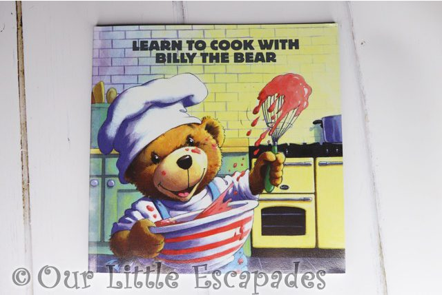 learn to cook with billy the bear