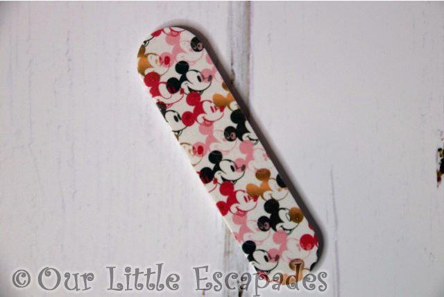mickey mouse advent calendar nail file pattern