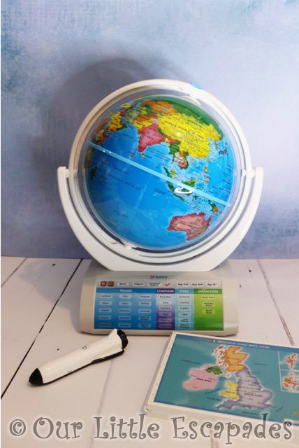 oregon scientific smart globe explorer smart pen pull out tray