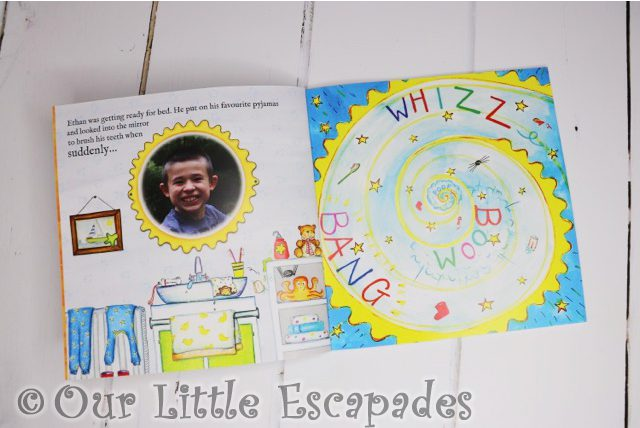 personalised childrens books bang on books the golden key photo