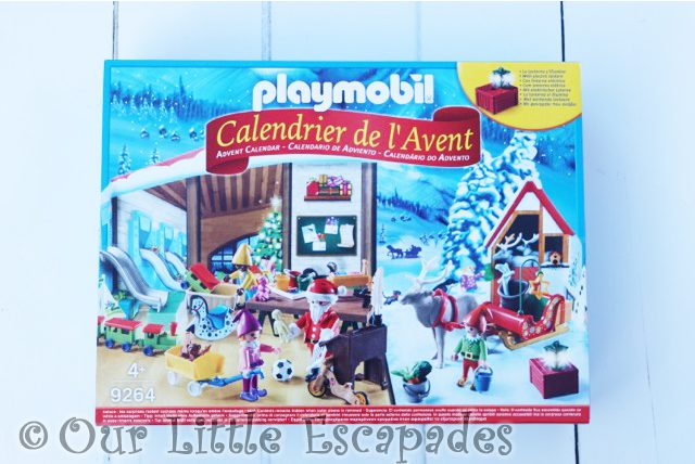 Playmobil Advent Calendar Santa's Workshop 2018 REVIEW Unboxing The Contents