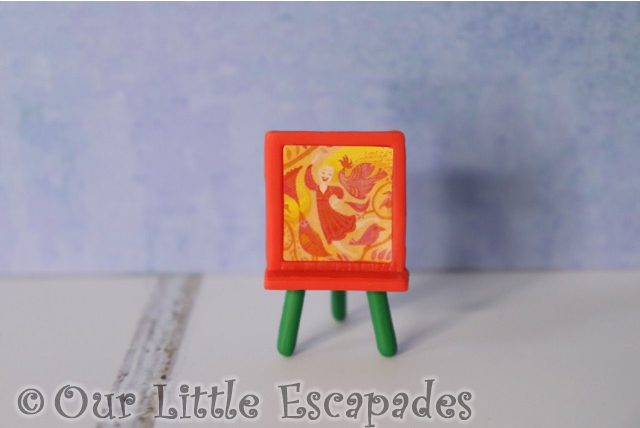 rapunzels easel disney animators collection advent calendar