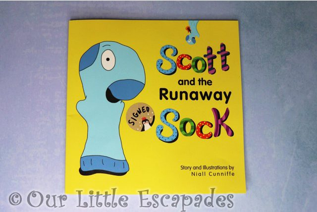 scott and the runaway sock