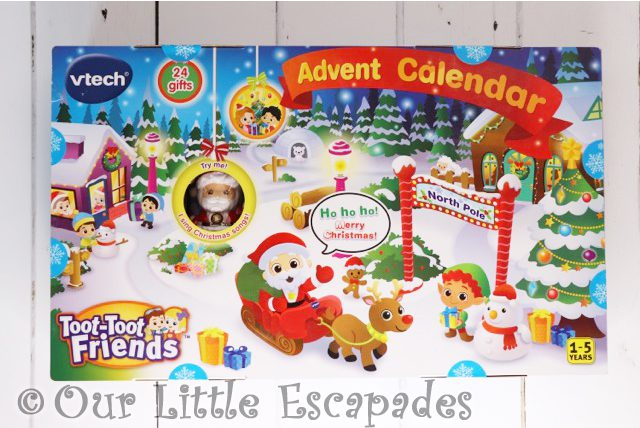 vtech toot toot friends advent calendar