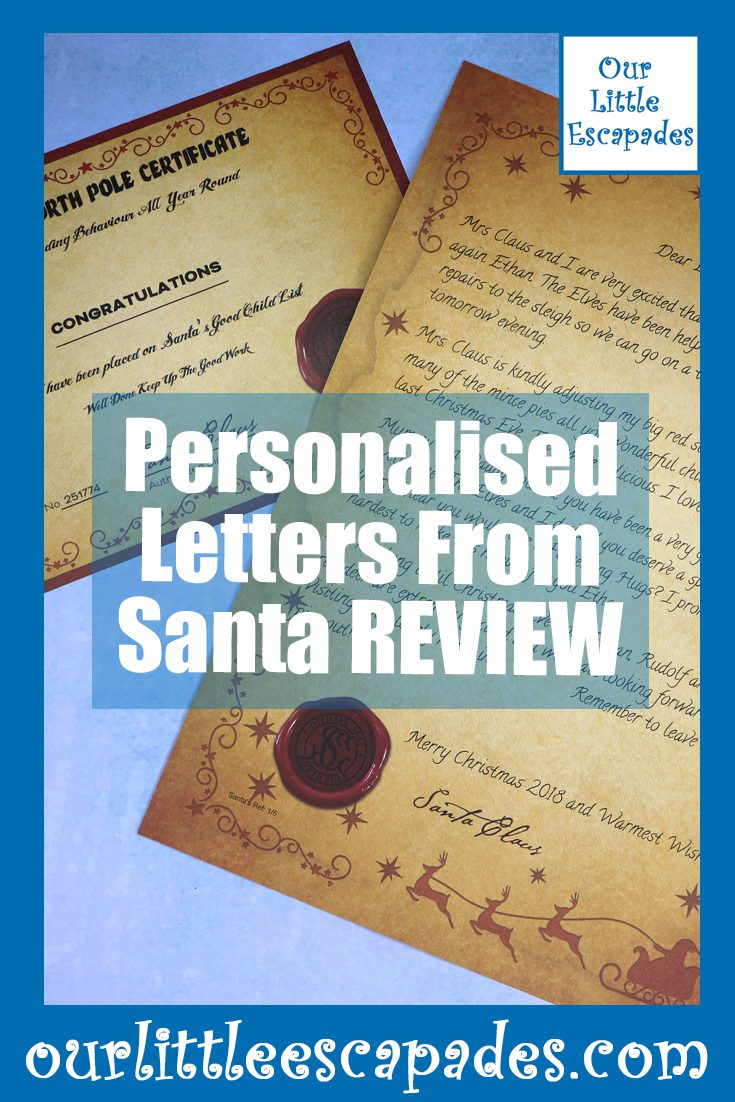 Personalised Letters From Santa REVIEW