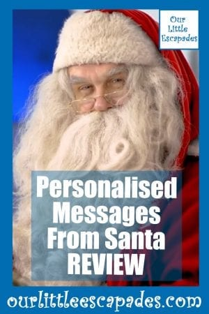 Personalised Messages From Santa