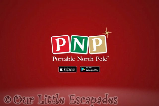 personalised messages from santa portable north pole