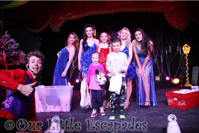 the christmas spectacular show cast