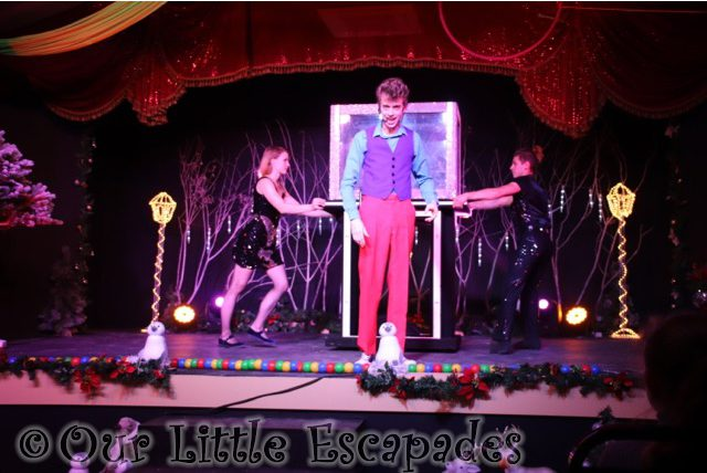 the christmas spectacular show stonham barns alex morley magic