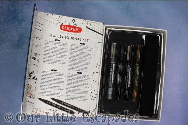derwent bullet journal set a5 open valentines day gift ideas