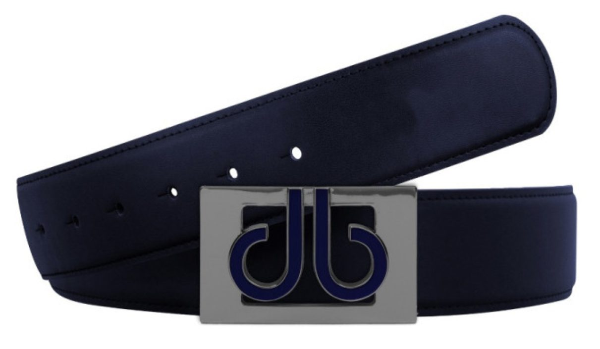 druh players collection 3d leather golf belt