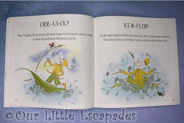 tales of mossycup wood frogbit and the big gloop inside pages