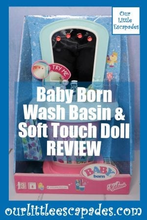 Baby Born Wash Basin & Soft Touch Doll REVIEW