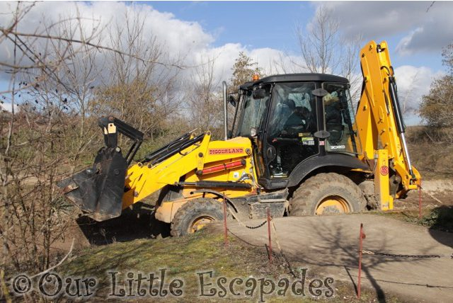 JCB backhoe loader JCB rides drives