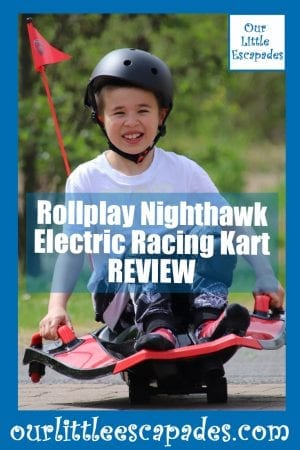 Rollplay Nighthawk Electric Racing Kart REVIEW