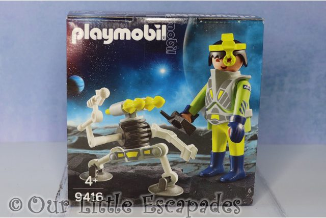 space agent robot playmobil 9416