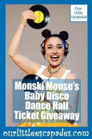 Monski Mouses Baby Disco Dance Hall Ticket Giveaway