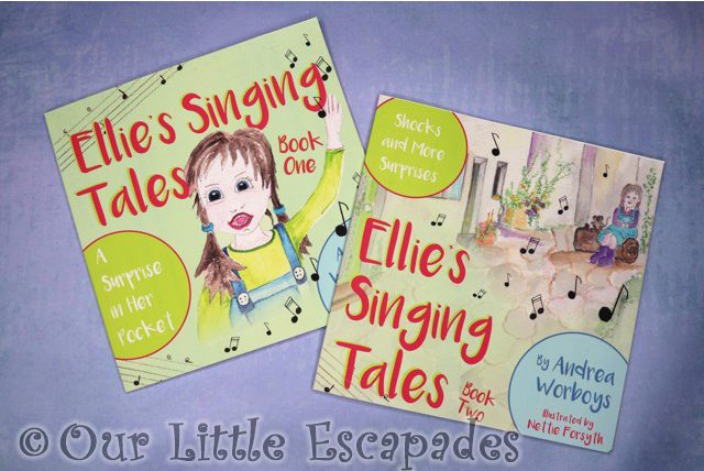 Ellie's Singing Tales Book REVIEW and GIVEAWAY