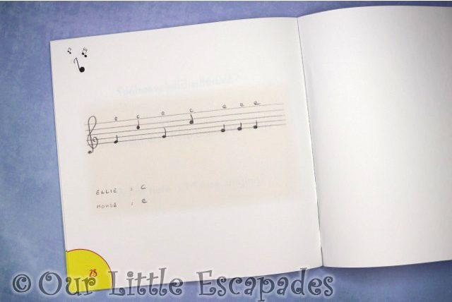 ellies singing tales book 1 music