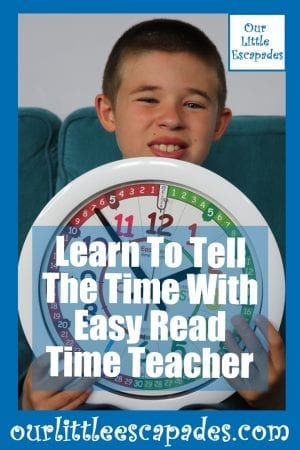 Learn To Tell The Time With Easy Read Time Teacher