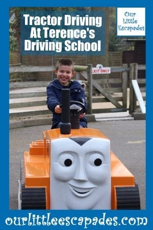 Tractor Driving Terences Driving School Thomas Land