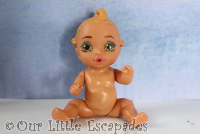 blonde hair golden eyes baby born surprise