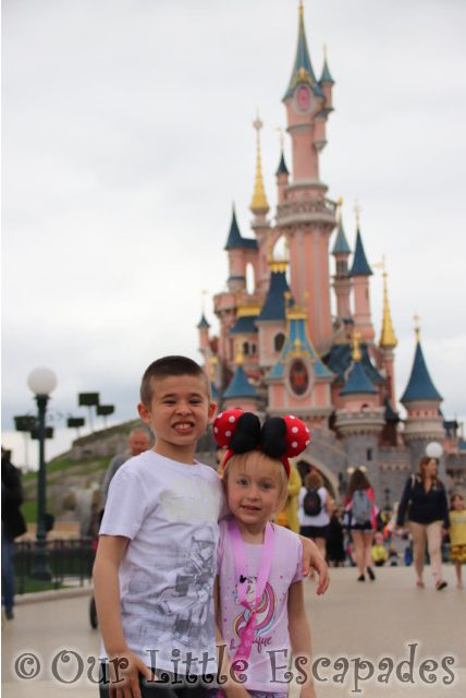 sleeping beauty castle disneyland paris ethan little e