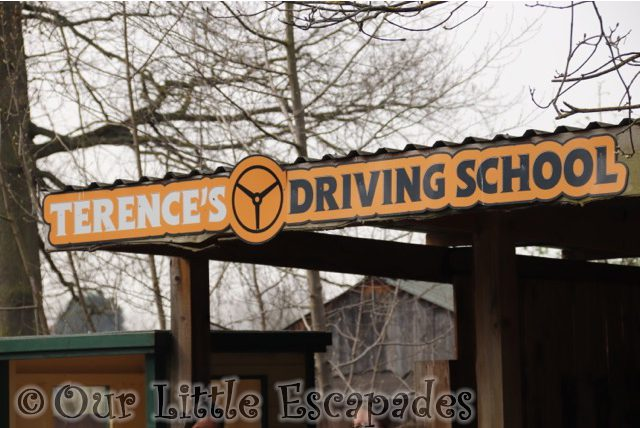 terences driving school sign