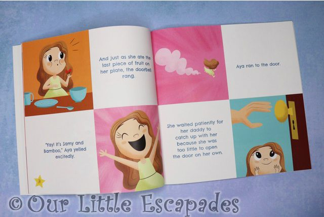 aya and papaya meet the big little creatures breakfast pages
