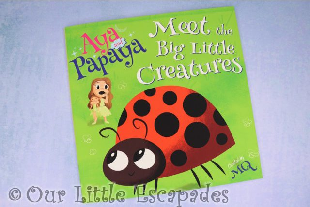Aya and Papaya meet the Big Little Creatures Book REVIEW and GIVEAWAY
