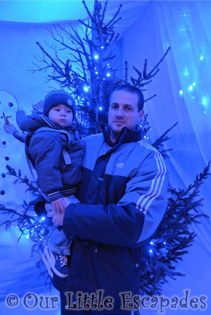 darren ethan christmas tree colchester zoo christmas grotto