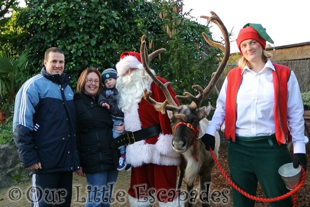 Breakfast With Santa at Colchester Zoo