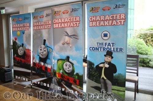 The Drayton Manor Hotel Character Breakfast