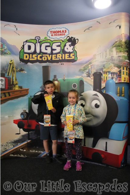 ethan little e thomas friends digs discoveries vip event
