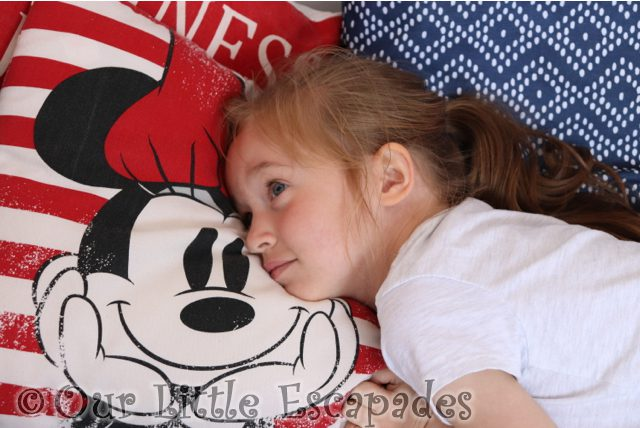 little e minnie mouse cushions