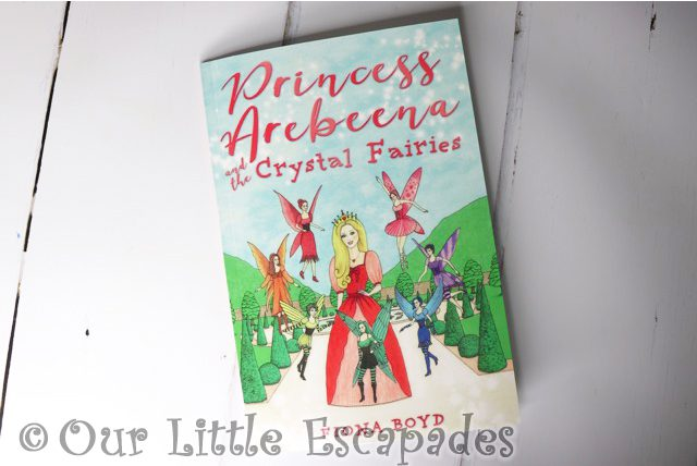 Princess Arebeena and the Crystal Fairies Giveaway