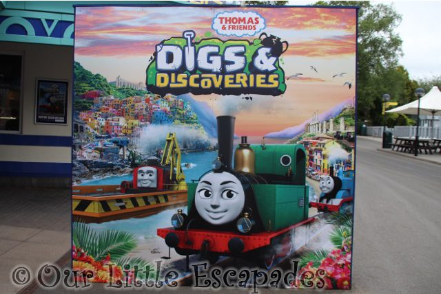 thomas friends digs discoveries vip event