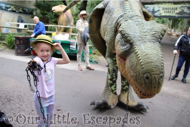 little e walking t rex port lympne Happy Sixth Birthday