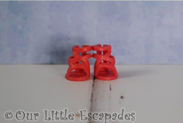 tess red sandals