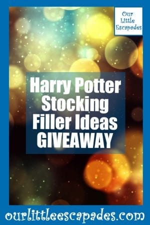Harry Potter Stocking Filler Ideas GIVEAWAY