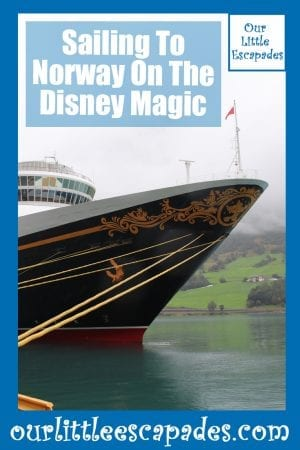 Sailing To Norway On The Disney Magic