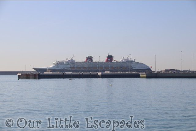disney magic dover port