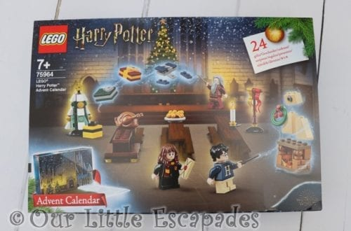 LEGO Harry Potter Advent Calendar 2019 REVIEW Unboxing The Contents