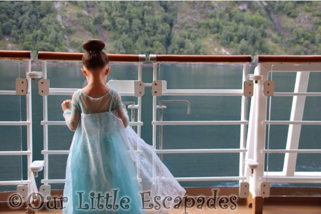 little e elsa bibbidi bobbidi boutique princess makeover disney magic geiranger norway