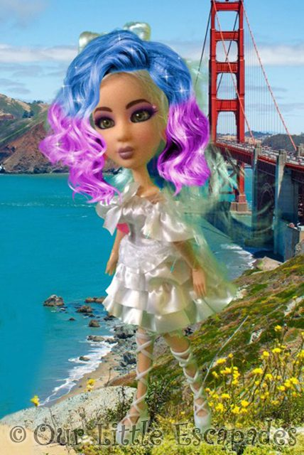 echo snapstar studio creations rainbow hair golden gate bridge