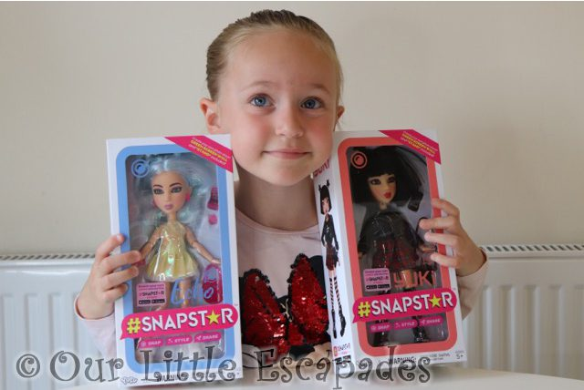 SNAPSTAR Dolls - Snap, Style & Share! REVIEW