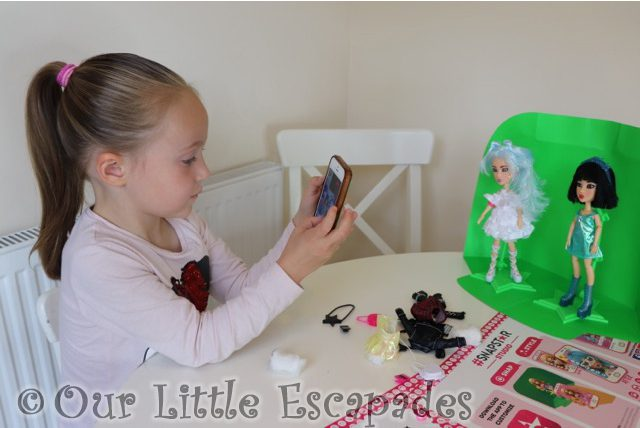 little e snapstar dolls greenscreen snapstar studio