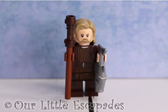 luke skywalker ahch to island outfit lego star wars advent calendar 2019