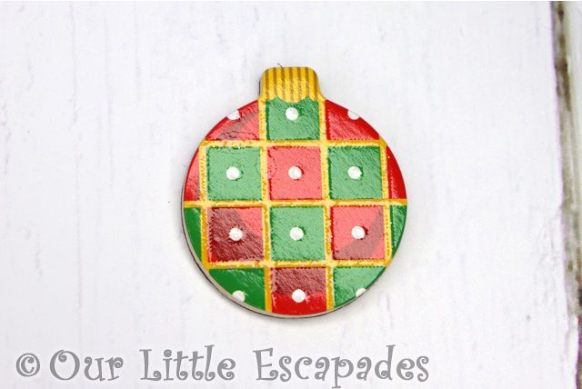 square pattern magnetic christmas tree bauble melissa doug christmas wooden advent calendar