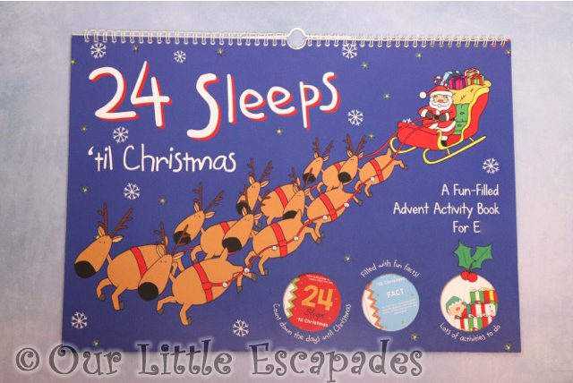 24 sleeps til christmas advent book Advent Calendars For Kids